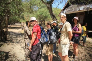 The Tourist Visits to Komodo National Park Increase Annually