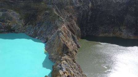 Kelimutu : Adventure to the Three colored Lakes